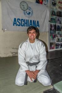 Bazmuhammad, en av Shafiqs studenter, nå trener på Aschiana.