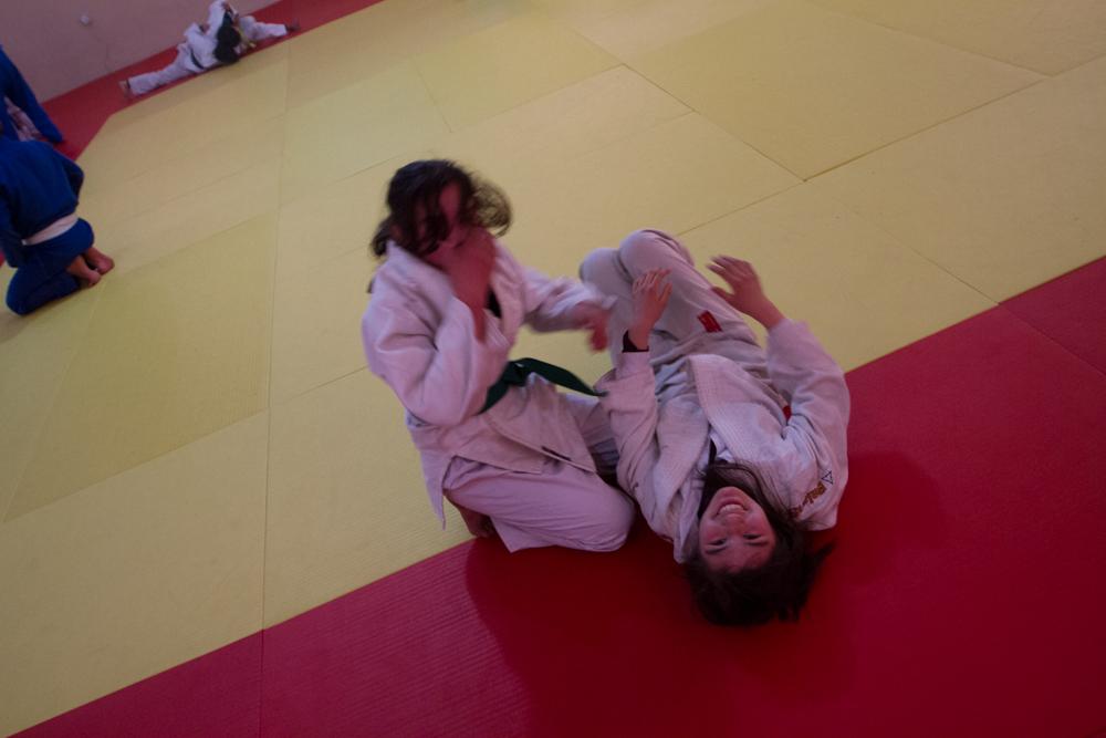 Jentetrening på Olympic.