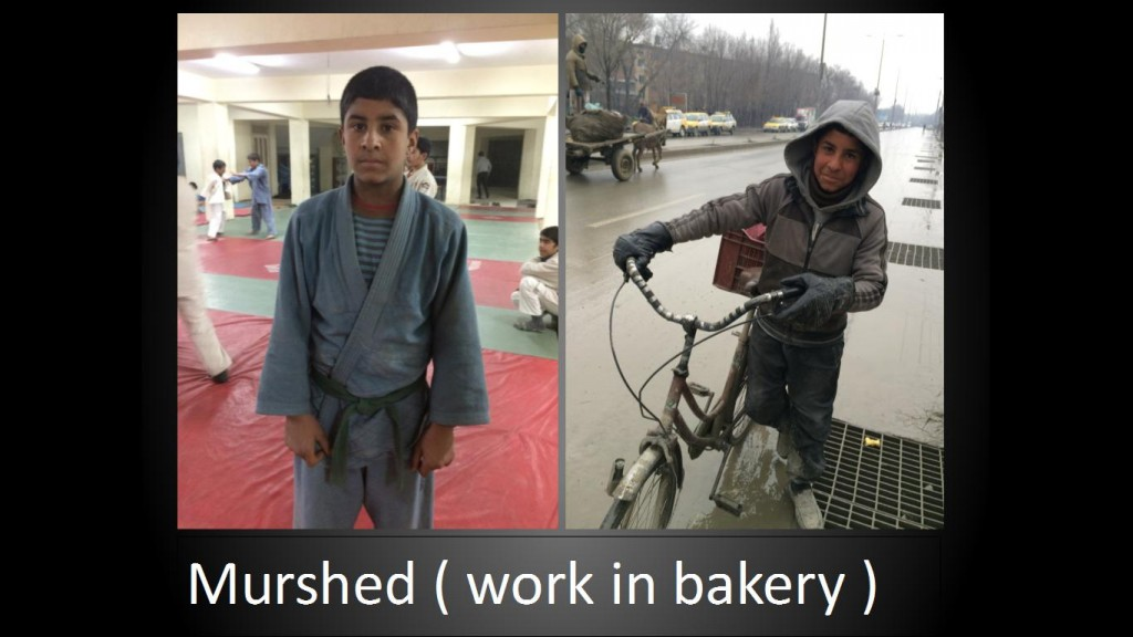Murshed (work in bakery)