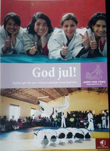 Judo for freds julekort 2019